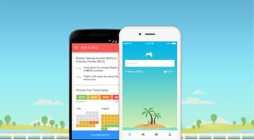 Tahle aplikace dokáže předpovědět, kdy je nejvýhodnější letět a automaticky hlídá ceny letenek