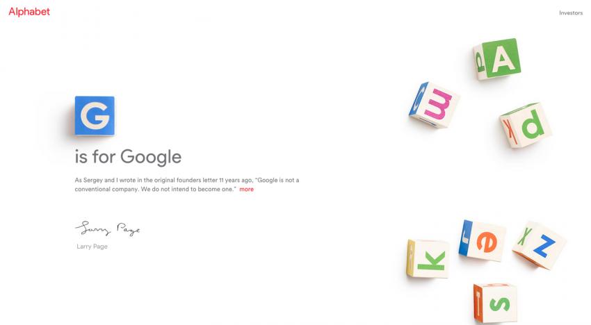 Z Googlu se stala nová společnost Alphabet. Ta bojuje o vlastnická práva k doméně s BMW