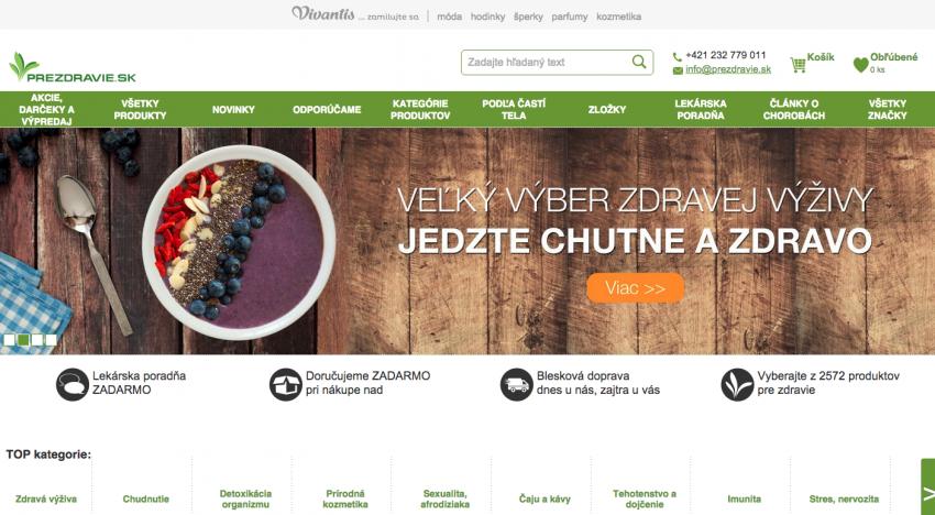 E-commerce Holding spadající pod skupinu Rockaway spouští na Slovensku nový e-shop