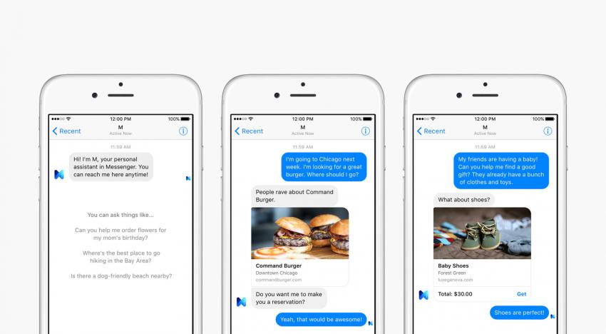 Facebook přidává novou funkci založenou na umělé inteligenci, která umí myslet a plnit úkoly