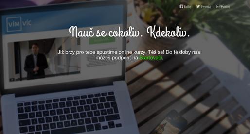 Tenhle nový český vzdělávací online projekt chce být jedničkou na trhu