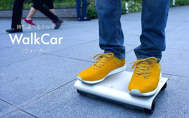WalkCar je miniaturní Segway, co vypadá jako Magic Trackpad od Applu