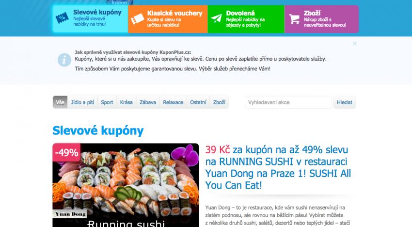SlevaDne.cz kupuje konkurenční slevový portál a má desítky milionů korun na další investice