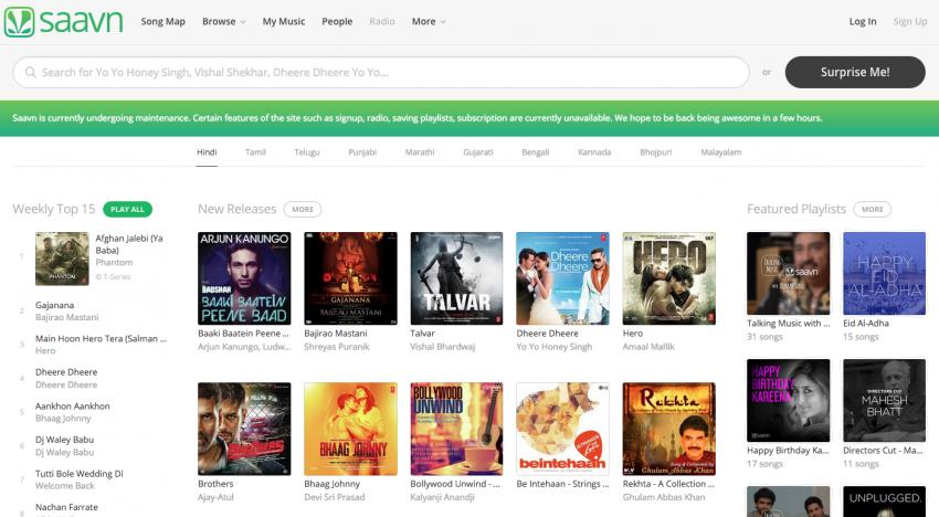 """""""Indická"""" konkurence Spotify a Apple Music získává investici v řádu milionů dolarů"""