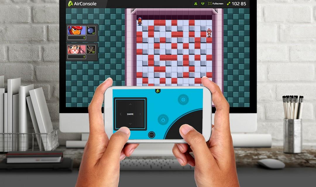 Nová přelomová aplikace udělá z vašeho prohlížeče herní konzoli a z mobilu ovladač