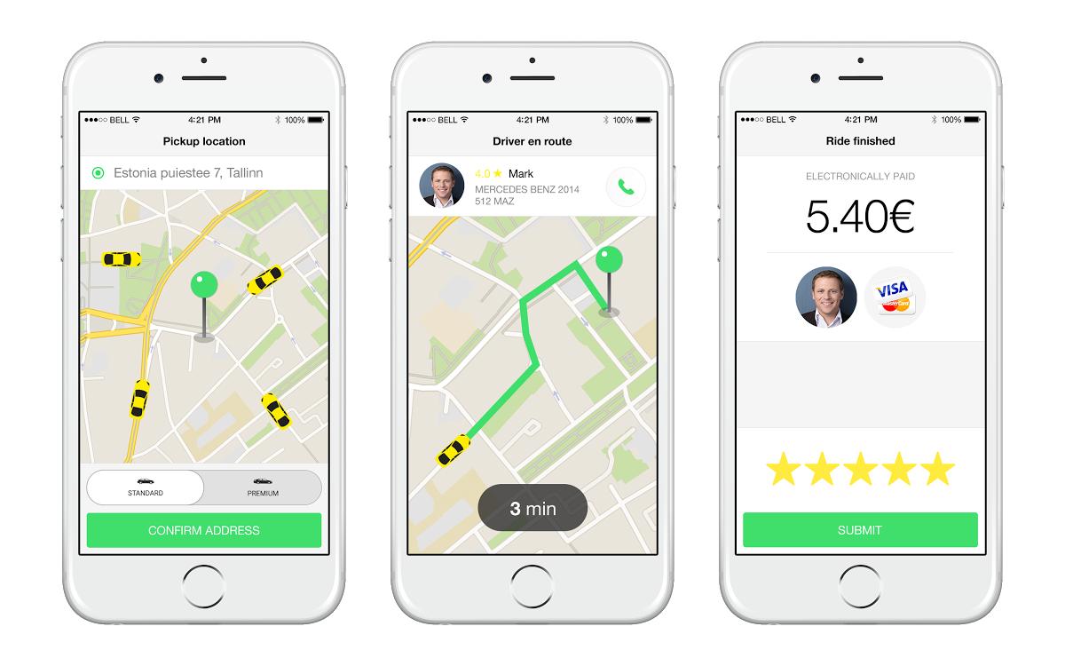 Náhled aplikace na iOS platformě