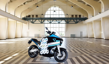 STORM electric motorcycle