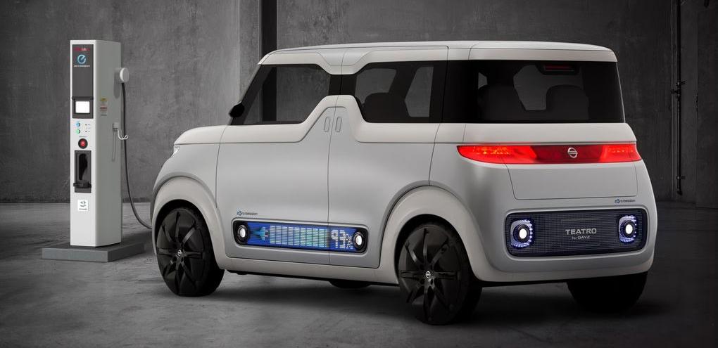 Nissan odhalil koncept futuristického elektromobilu pro mladou digitální generaci