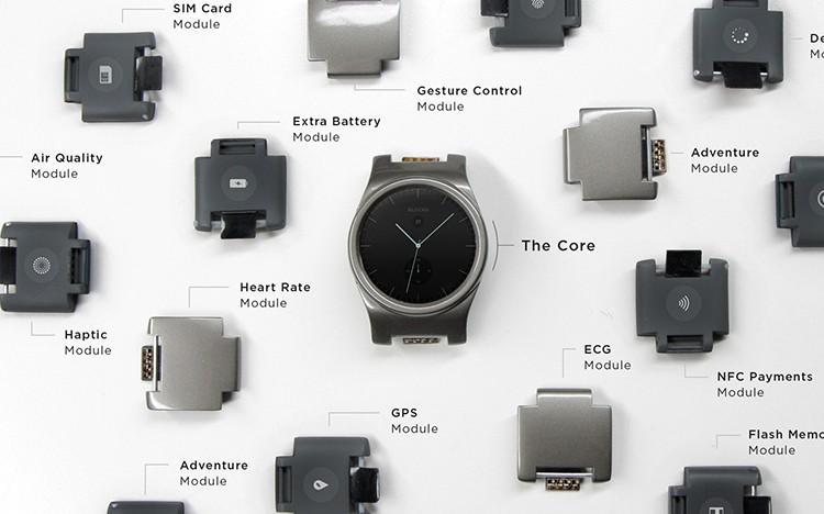 Chytré hodinky, které si sestavíte jako stavebnici, už na Kickstarteru vybraly přes 23 milionů Kč