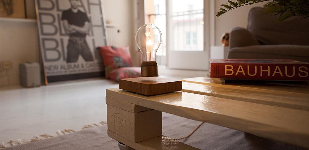 Flyte: bezdrátová levitující žárovka, která na Kickstarteru získala 617 tisíc dolarů