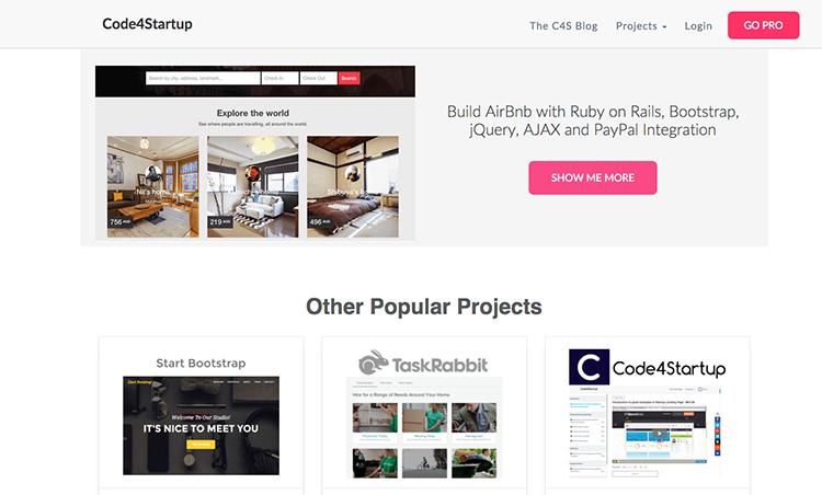 Díky tomuto projektu si zvládnete naprogramovat vlastní Airbnb, Kickstarter a další populární weby