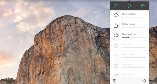"""Noizio: """"hudební"""" aplikace pro všechny, kdo se chtějí při práci na Macu maximálně soustředit"""
