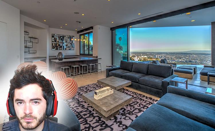 23letý Youtuber si v Hollywoodu koupil tenhle luxusní dům za 4,5 milionů dolarů