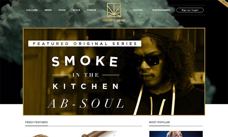 Rapper Snoop Dogg právě spustil svůj marihuanový startup MerryJane