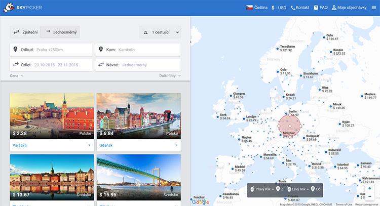 Brněnský startup Skypicker roste z pohledu tržeb o tisíce procent