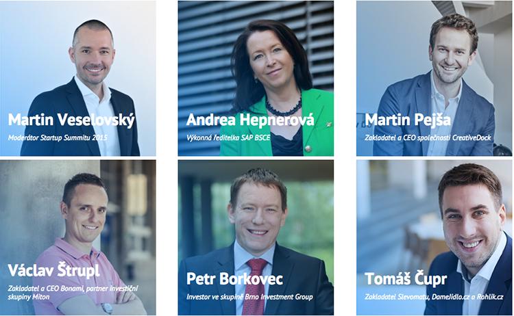 Podívejte se, jaká známá jména vystoupí v Praze na očekávaném Startup Summitu