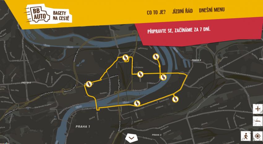 V Praze za několik dní odstartuje další food delivery projekt. Tentokrát pro bagety