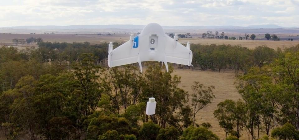 Létající drony nám první zboží doručí už v roce 2017!