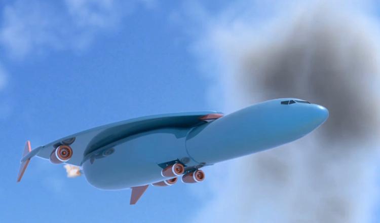 Tohle letadlo vás v budoucnu přepraví z Londýna do New Yorku za 1 hodinu