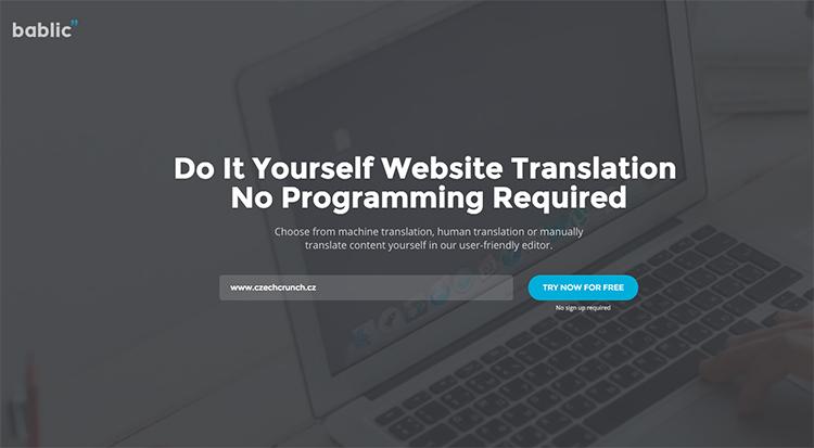 Bablic: aplikace, která okamžitě přeloží váš web do jiných jazyků