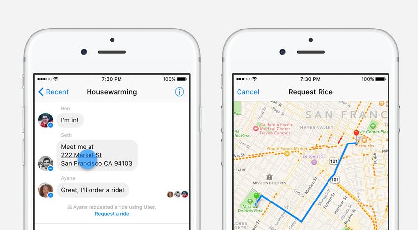 Facebook přidá do své mobilní aplikace novinku, se kterou si objednáte jízdu taxíkem