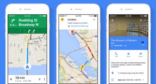 Google Mapy přichází na iOS s novou verzí a funkcí, která bude konkurovat navigacím
