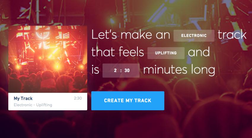 Díky tomuhle startupu si můžete vytvořit vlastní hudbu pomocí umělé inteligence