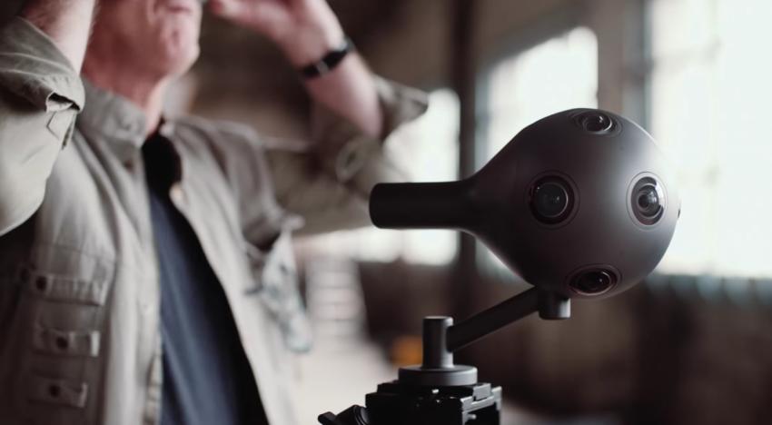 Nokia vymyslela unikátní kameru, která je schopna natáčet ve formátu pro virtuální realitu