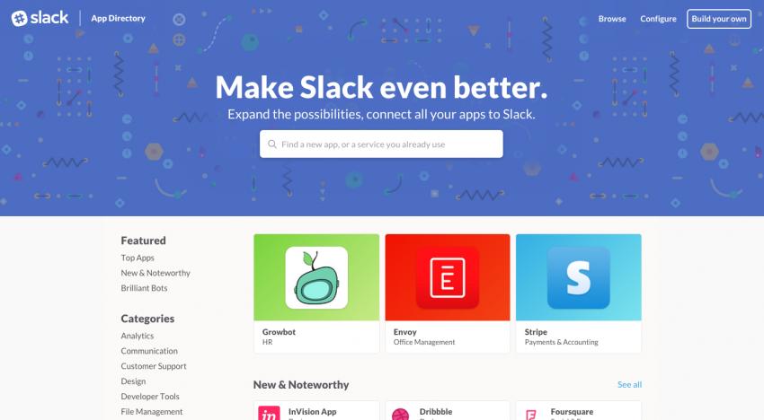 Tohle je první český projekt, který se dostal na oficiální tržiště aplikací od Slacku