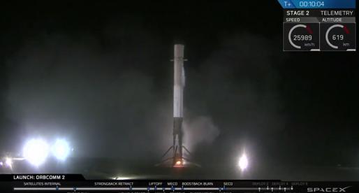 Podívejte se na úspěšný start a přistání rakety SpaceX