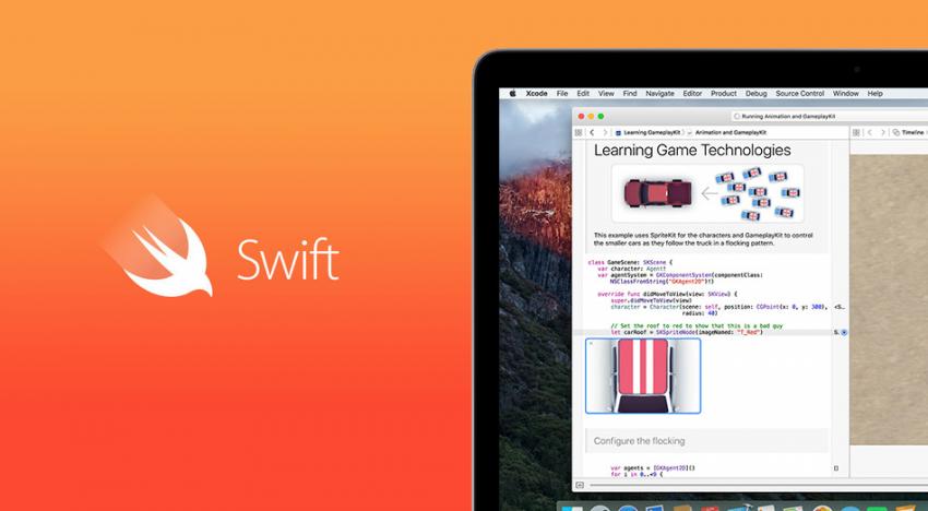 Apple dává k dispozici svůj vlastní programovací jazyk Swift jako open-source