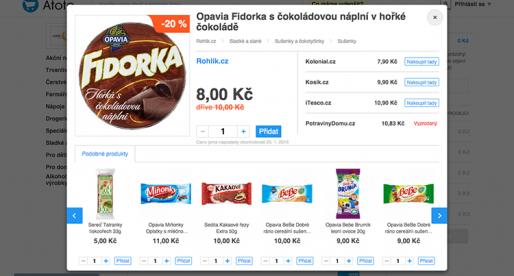 Srovnávač online supermarketů Atoto.cz získává investici ve výši 6 milionů Kč
