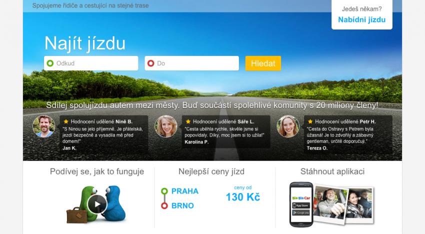 Obrovský startup na sdílení jízdy kupuje Jizdomat.cz a vstupuje na český trh