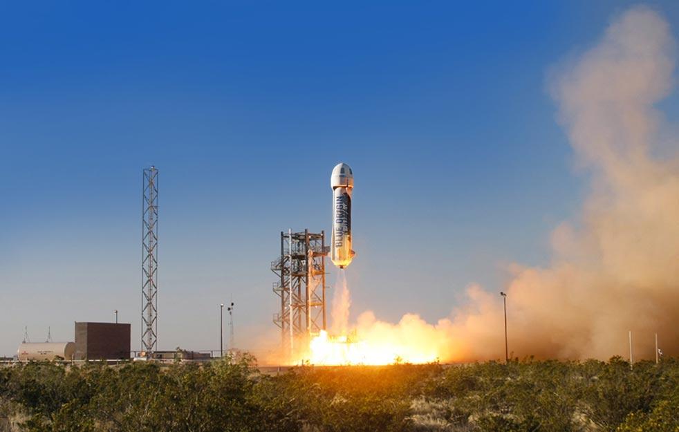 Konkurence SpaceX od zakladatele Amazonu opětovně přistála s použitou raketou