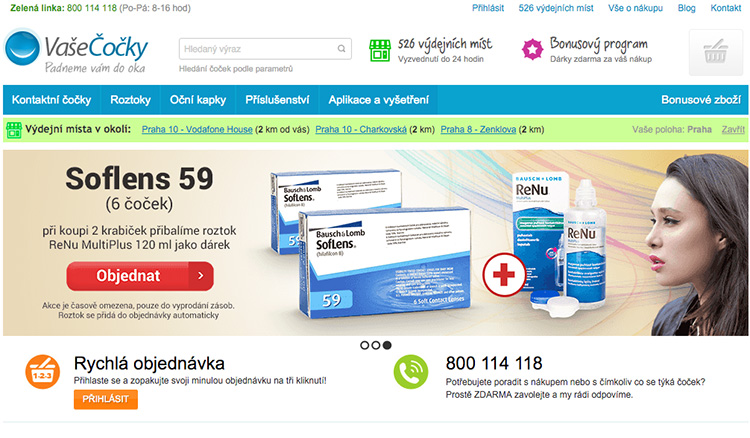 Eshop VaseCocky.cz překročil na tržbách půl miliardy korun