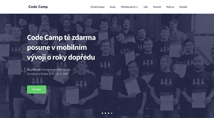 Code Camp 2016: naučte se zdarma programovat mobilní aplikace