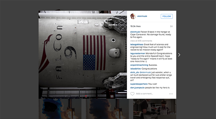 Elon Musk potvrdil, že raketa SpaceX, která úspěšně přistála na zemi, může znovu letět do vesmíru!