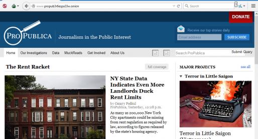 Odvrácená strana internetu má svůj první anonymní zpravodajský server