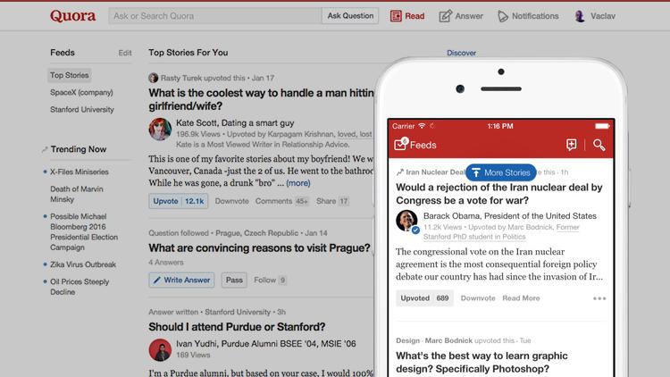 Quora spouští funkci, díky které si za odpověď na otázku vyděláte až tisíc dolarů