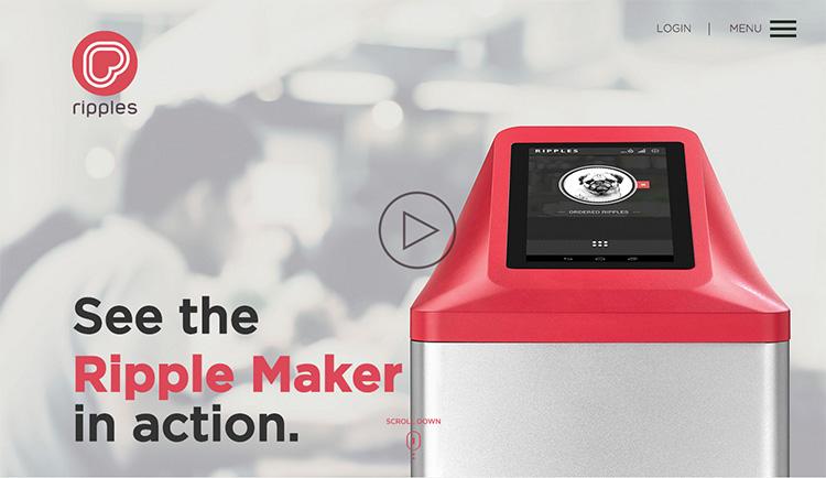 Tohle zařízení vezme libovolný obrázek z vašeho mobilu a nakreslí ho do kávy