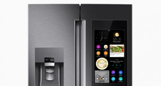 Díky této chytré lednici od Samsungu už nebudete nikdy muset sami na nákup potravin