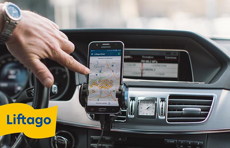 Další z českých služeb, tentokrát agregátor taxikářů Liftago