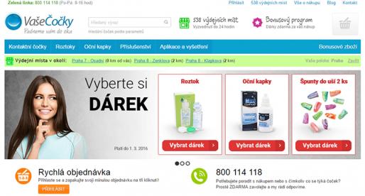 Eshop VašeČočky.cz v roce 2015 utržil 600 milionů Kč