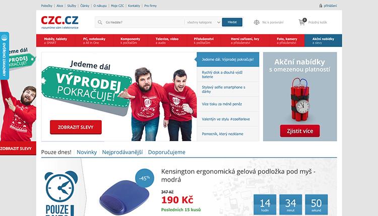 CZC.cz vzrostly loni tržby o 21 % na 2,9 miliardy korun