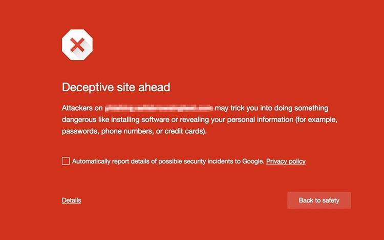 Google Chrome umí nově varovat před falešnými malware tlačítky pro stažení