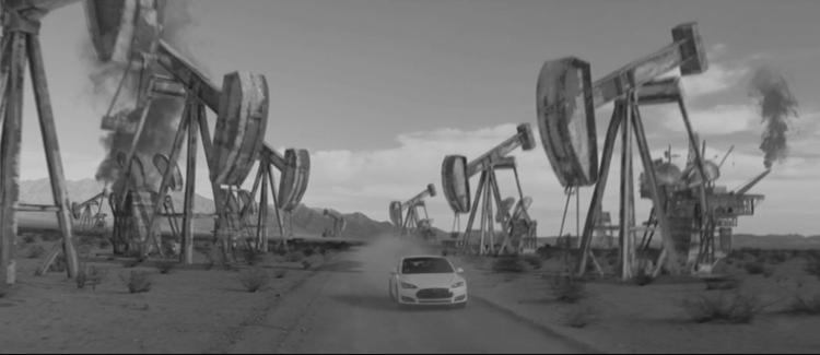 Podívejte se na nezávislé video o elektromobilu Tesla ve stylu Mad Maxe