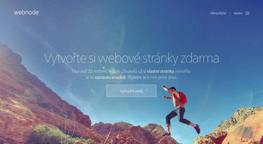 Brněnská platforma na tvorbu webů Webnode za 1,5 měsíce vytvořila v ČR a na Slovensku 100 tisíc webů