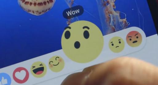 """Facebook spustil novou podobu """"Like"""", která zcela mění způsob reakce na příspěvky"""