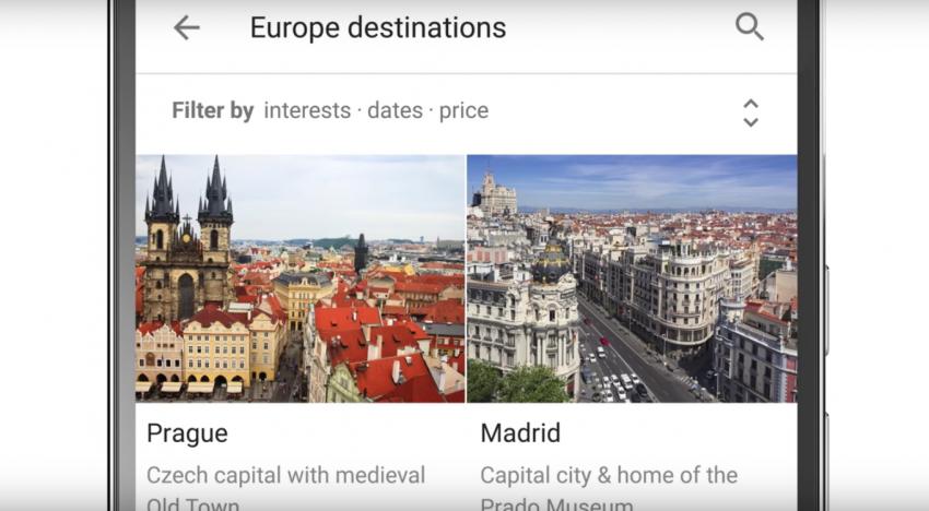 Google spustil novinku, která dokáže během sekund naplánovat a rezervovat dovolenou