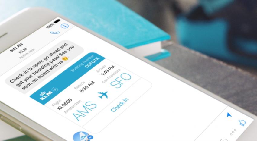 Aerolinka KLM nabídne v Messengeru od Facebooku check-in nebo informace o letech